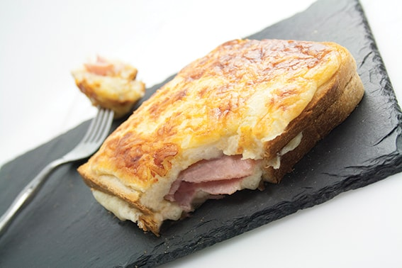 Le Croque-Monsieur double jambon